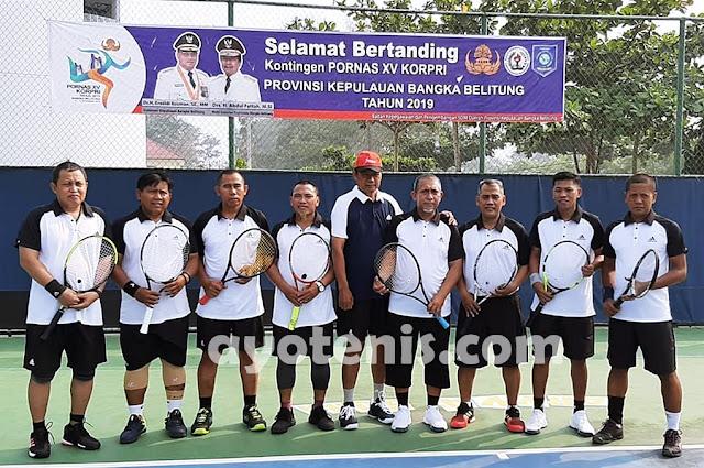 Tenis Pornas Korpri: Libas Sultra, DKI Optimis Hadapi Jatim
