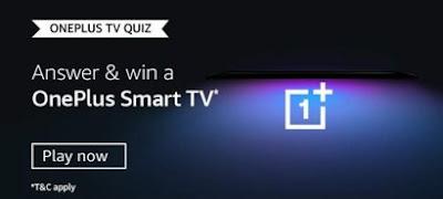 Oneplus TV Quiz Answers