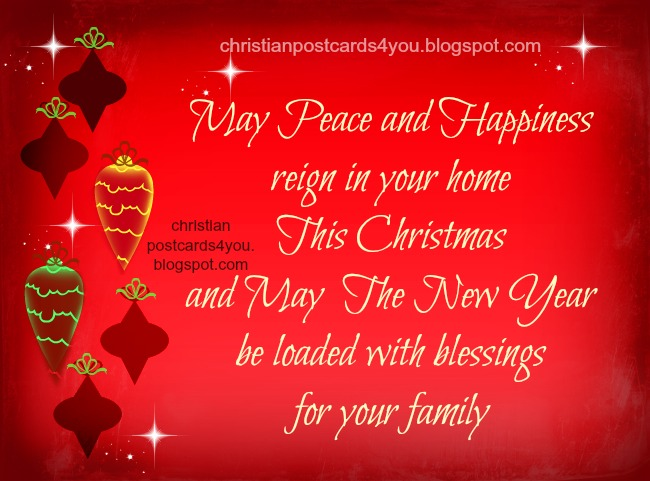 Christian Quotes Christmas and New Year Card. Free christian images christmas, holidays, blessings quotes, Happy new year card free images.