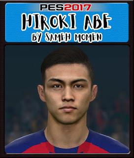 PES 2017 Faces Hiroki Abe by Sameh Momen