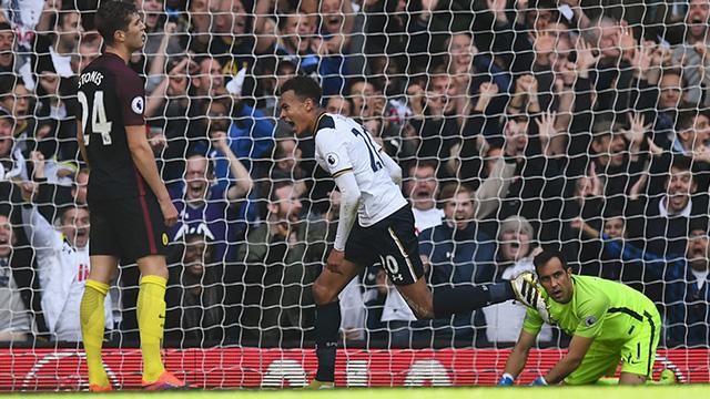 [Video] Cuplikan Gol Tottenham 2-0 Manchester City (Liga Inggris)
