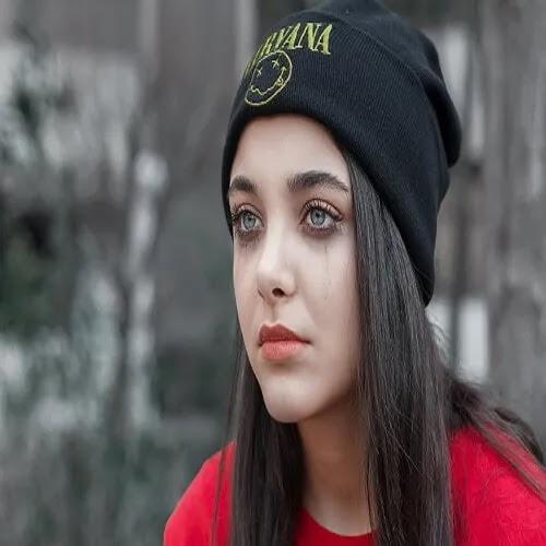 sad and crying girl DP