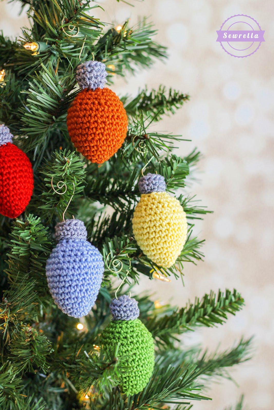 Christmas Lights Ornament | Christmas Traditions CAL - Sewrella