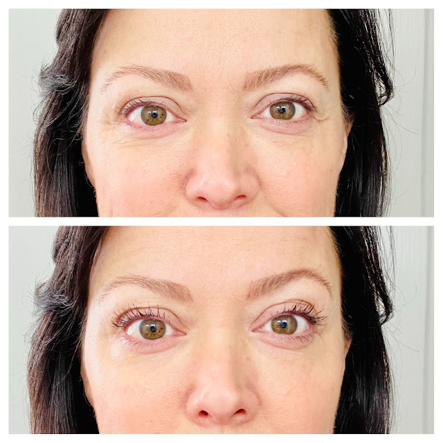 Thrive mascara before and after