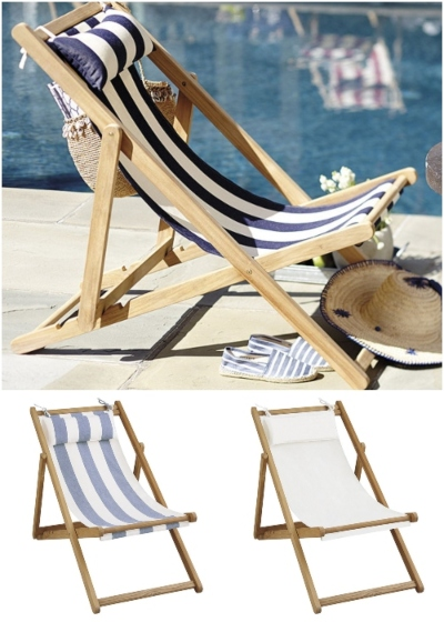Shop Wood Beach Sling Chairs