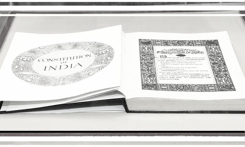 Essay on constitution of india