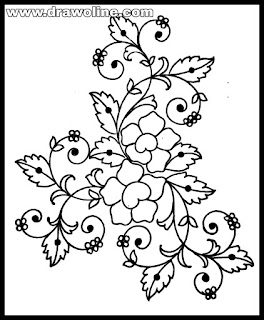 embroidery design images free download,hand drawn embroidery pattern.