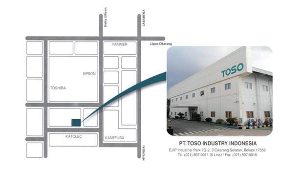 Lowongan Kerja PT. Toso Industry Indonesia EJIP Terbaru