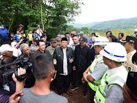 Lahan Petani Tak Dibayar, Wagub Jabar dan Bupati Purwakarta Tinjau Lokasi KCIC