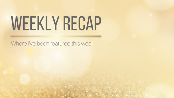 Weekly Recap: This Week's Features