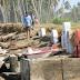 Cuaca Buruk Menyebabkan Puluhan Makam Tionghoa di Aceh Barat Tergerus dan Terendam ke Laut.