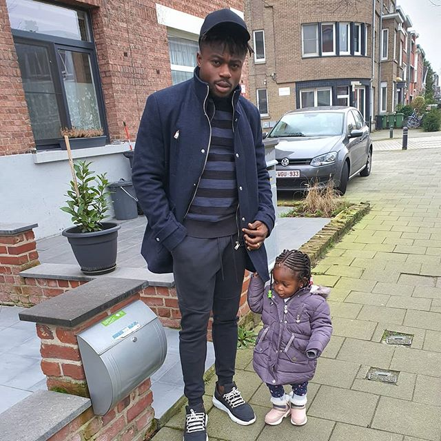 Super Eagles Player, Moses Simon Welcomes 2nd Daughter Wife