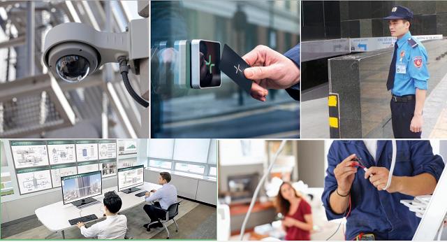 Hệ thống an ninh bảo vệ 2 lớp với camera giám sát 24/24
