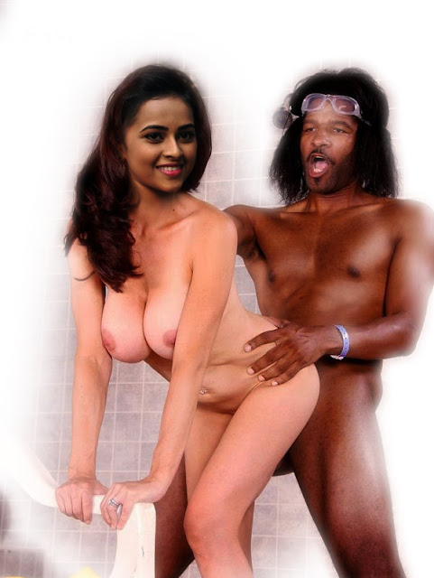 Sri Divya ass fucked naked standing sex without dress