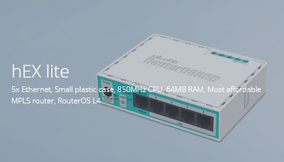 3. hEX lite (RB750r2)