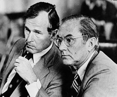 George Bush William Colby CIA