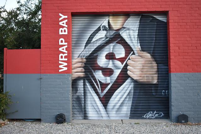Albury Street Art   Signorama mural by Kade Sarte