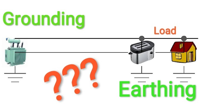 Difference between Earthing and Grounding / अर्थिंग और ग्राउंडिंग मैं अंतर