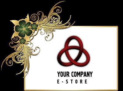 شعار متجر اليكترونيات PSD جاهز للتعديل بالفوتوشوب, Electronics Store Logo PSD Design Download