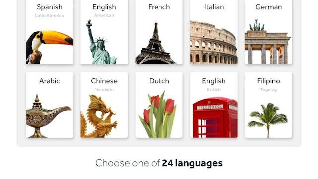 تطبيق Rosetta Stone لتعلم اللغات مجانا على اندرويد
