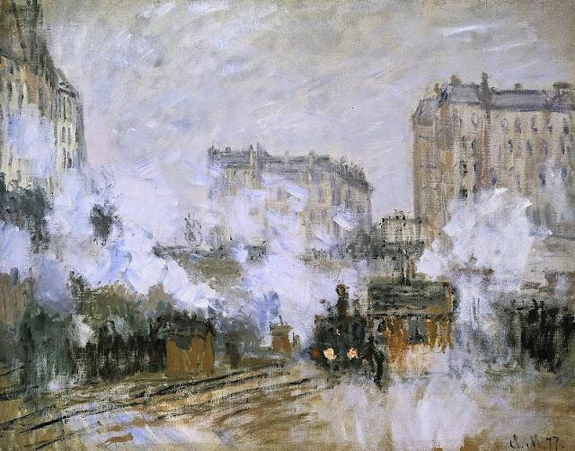 Monet et la Gare Saint Lazare 7%2BExte%25CC%2581rieur%2Bde%2Bla%2Bgare%2BSaint-Lazare%252C%2Barrive%25CC%2581e%2Bd%2527un%2Btrain%2BClaude%2BMonet%2B1877