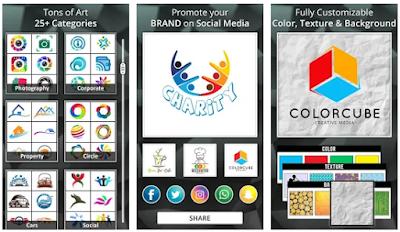 تطبيق Logo Maker - Logo Creator