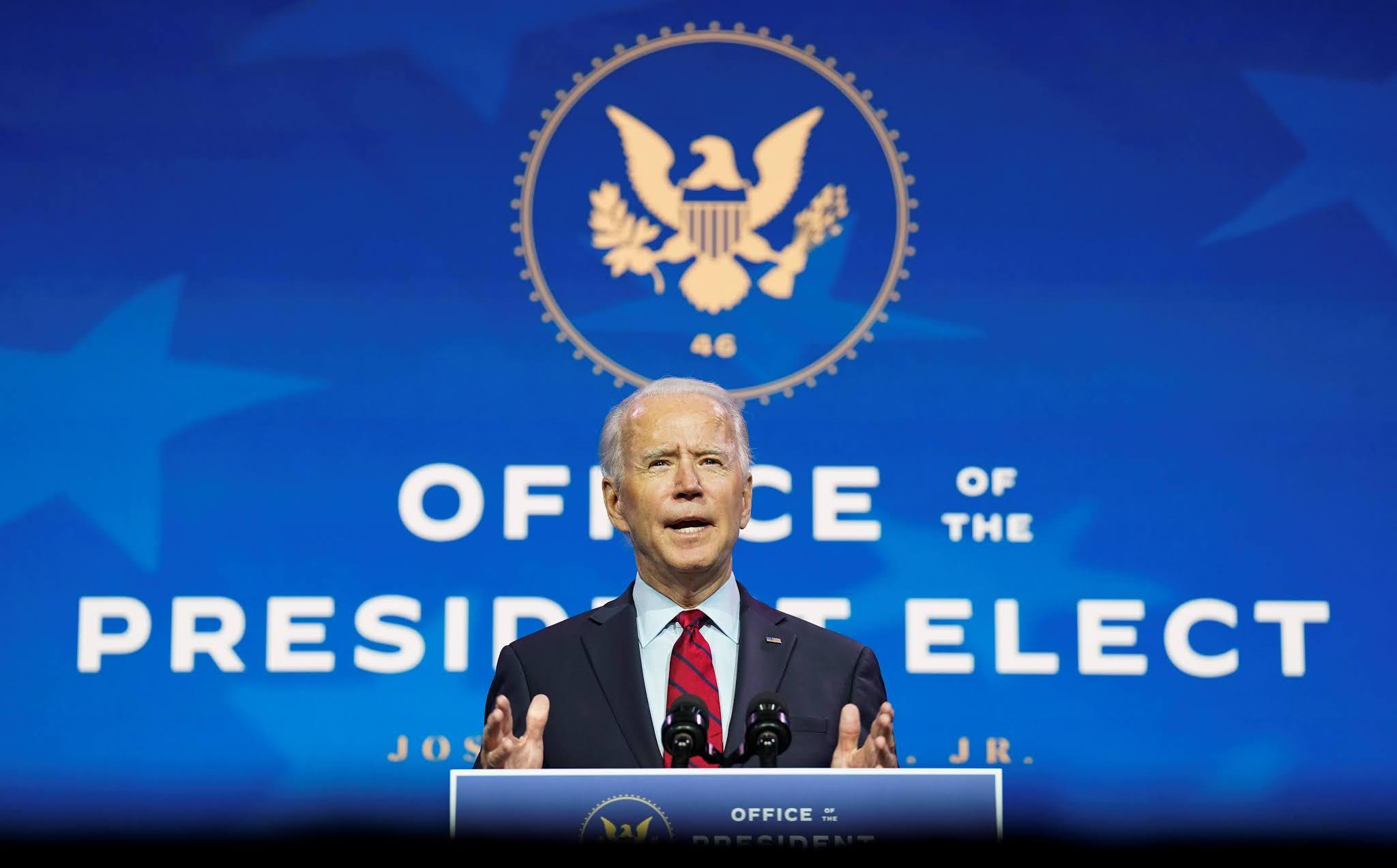 Joe Biden presidente electo