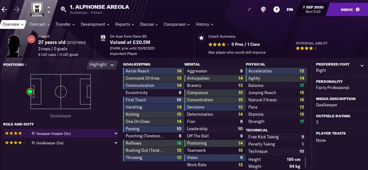 FM21 Alphonse Areola