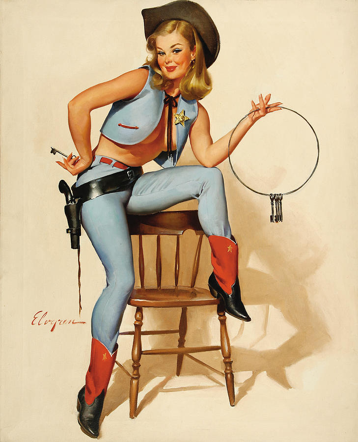 50+ Pin Up Girls Paintings for Your Inspiration
