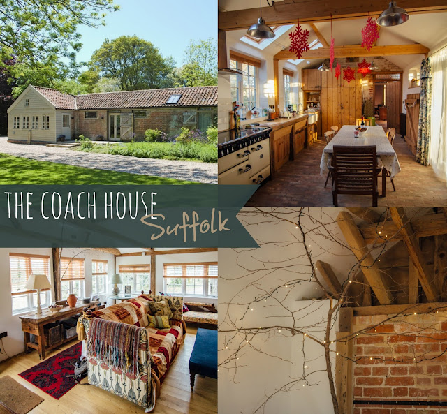 Cottage holiday home - The Coach House in Suffolk