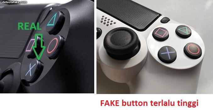 Kualitas tombol Joystick DS4 Asli