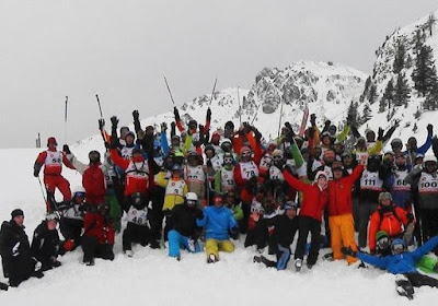 Coupe d'Europe 2013 de monoski de Montgenèvre photo grefzy