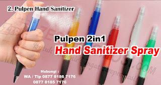 Pulpen Hand Sanitizer merupakan Rekomendasi Souvenir Yang Tepat Di Era New Normal