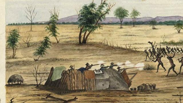 Pembantaian Suku Amborigin oleh Inggris