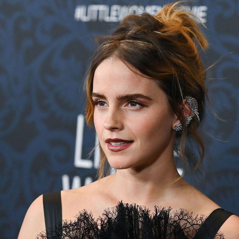 Emma Watson Wears A Balenciaga Dress To The Premiere Of Little Women At The Museum Of Modern Art