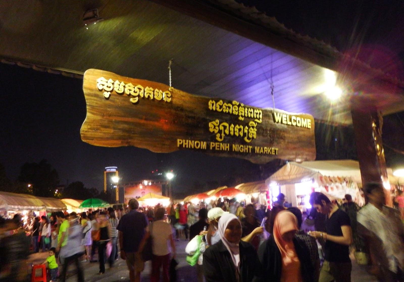 Night Market (Chợ đêm Phnôm Pênh)