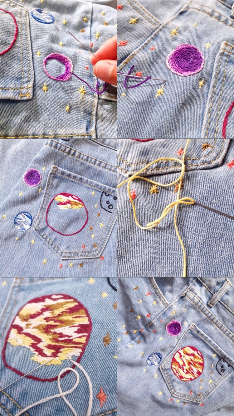 transformar ropa con bordados