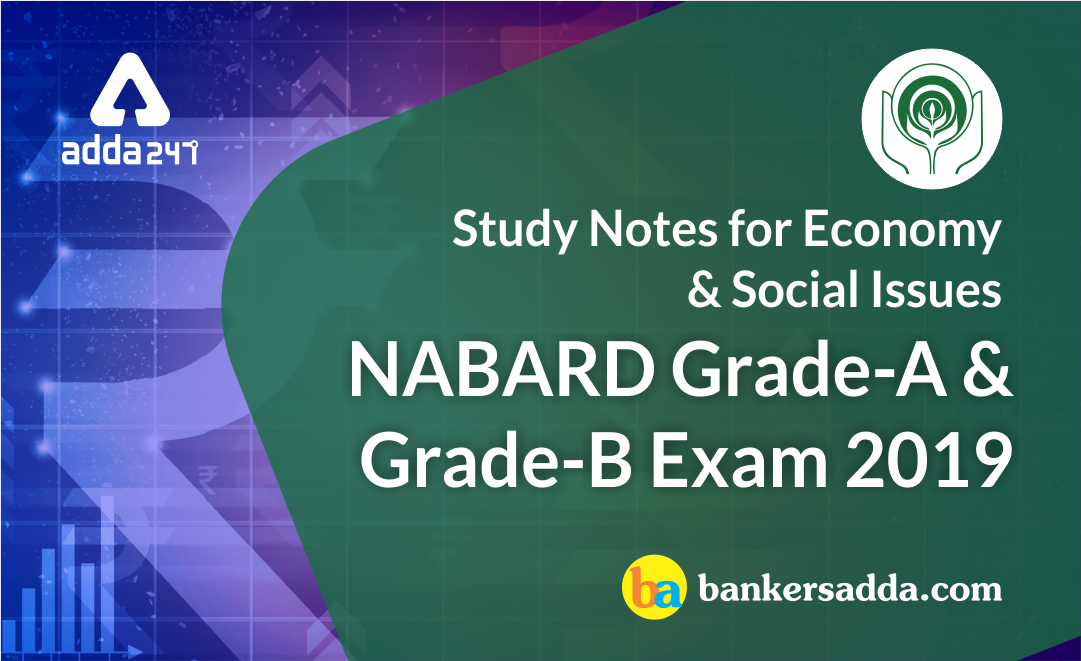 NABARD 2019 Phase I Study Notes | Economic and Social Issues