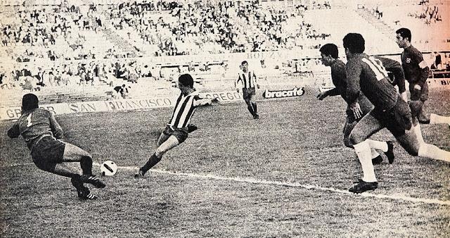 Chile y Paraguay en Campeonato Sudamericano de 1967