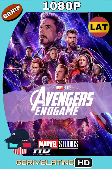 Avengers: Endgame (2019) BRRip 1080p Latino-Ingles MKV