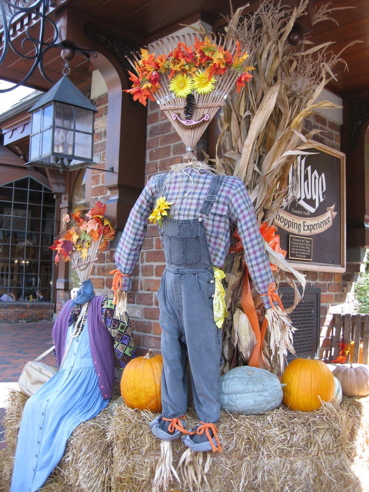 Ramblings Of A Southern Girl Whimsical Fall Displays