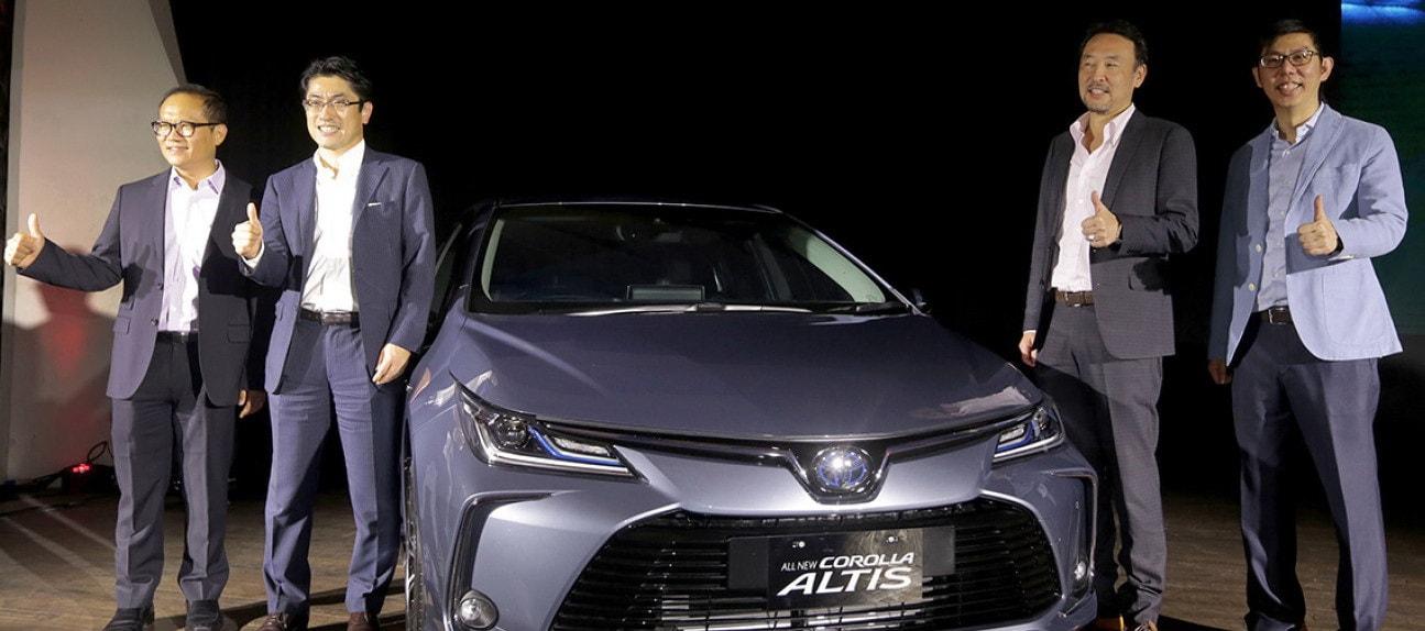 All New Corolla Altis Hadir di Indonesia Dengan Model Hybrid