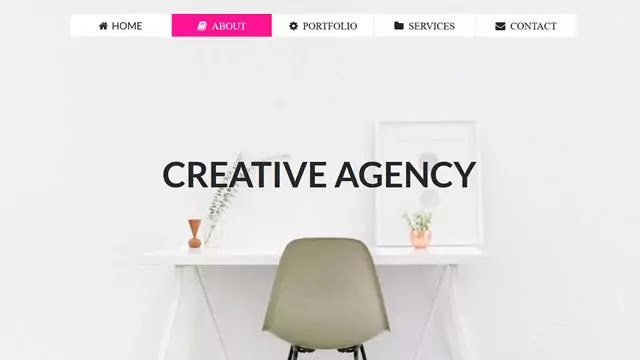 Simple Website Design using HTML and CSS