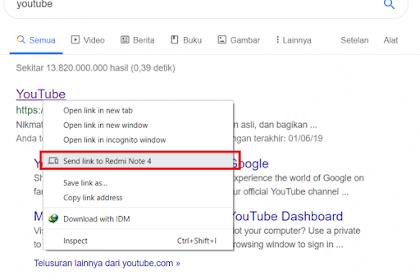 Cara Mengirim Link Dari Laptop ke Android