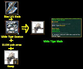 White Tiger Blade defend konoha