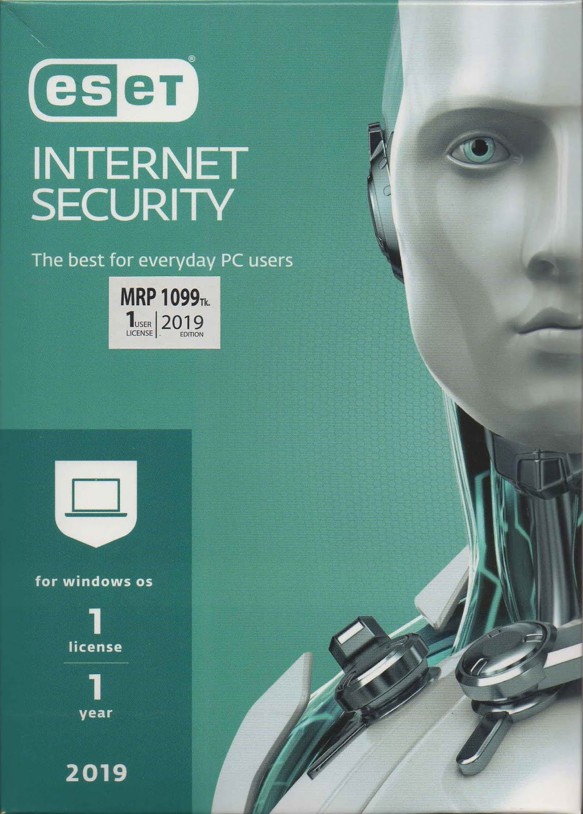 Eset Internet Security 2019 - 1 Year 1 PC | Ruperhat com