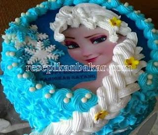 Resep Kue Ulang Tahun Anak Perempuan