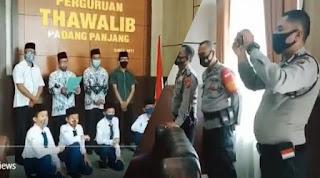 Viral, Pernyataan Thawalib Padang Panjang Menolak Gerakan Radikal-Intoleran, Disaksikan Aparat
