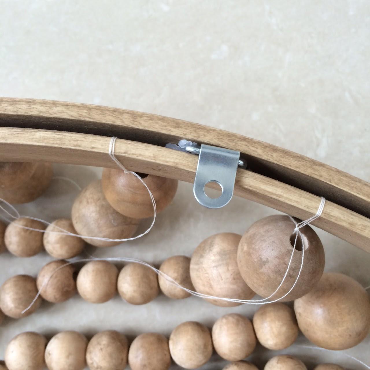 DIY Wood Bead Light