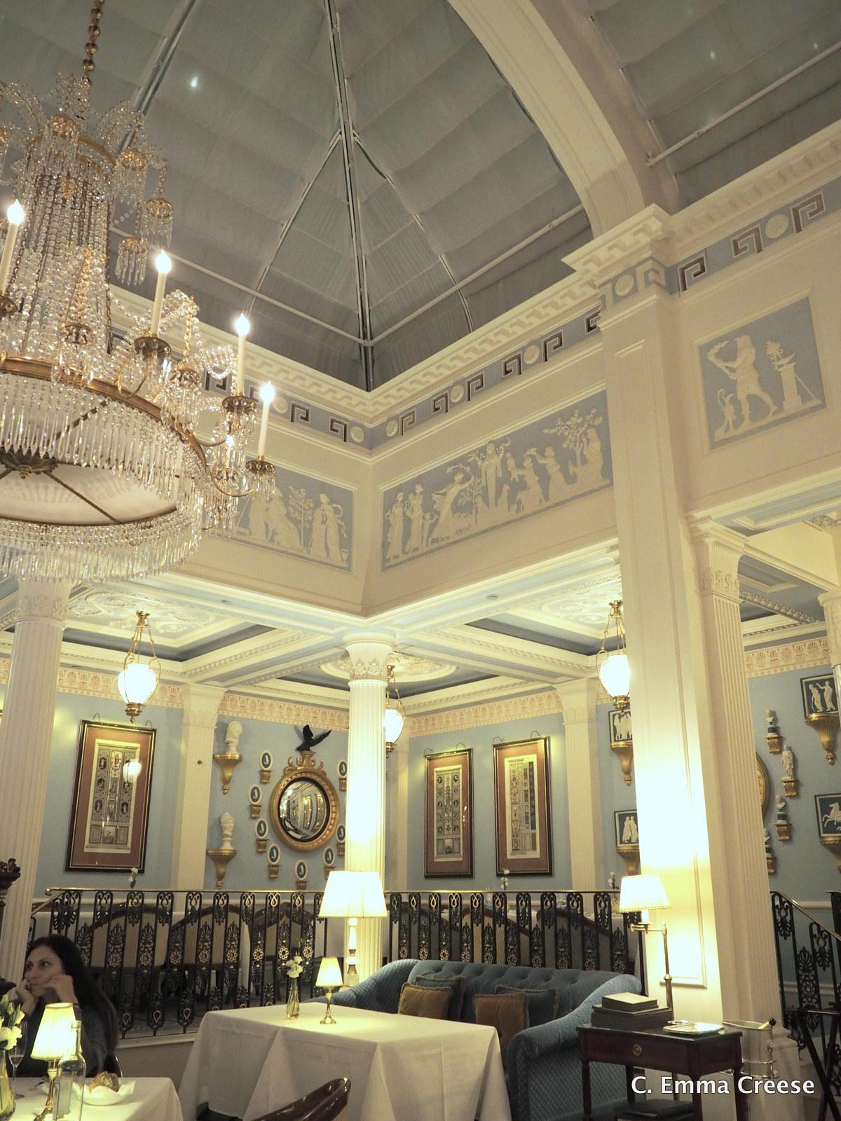 Celeste at the Lanesborough Hotel Luxury Restaurant Review Adventures of a London Kiwi